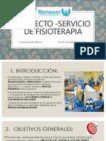 Proyecto -Servicio de Fisioterapia