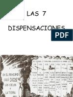Las 7 dispensaciones en PPT