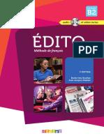 Edito B2 - Extrait