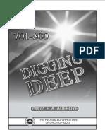 Digging Deep 701 800
