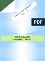 PATOLOGIAS PAVMENTO