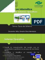 MSII 02 Tipos de Sistema Operativos