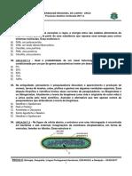 Caderno da prova II - Biologia, Geografia, Portugues, ESPANHOL e Redação.pdf