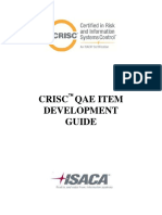 CRISC QAE Item Development Guide Bro Eng 0115