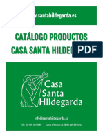 Catalogo Productos de Santa Hildegarda.
