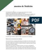 Instrumentos de Medición Informe