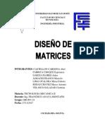 3.- Diseño de Matrices