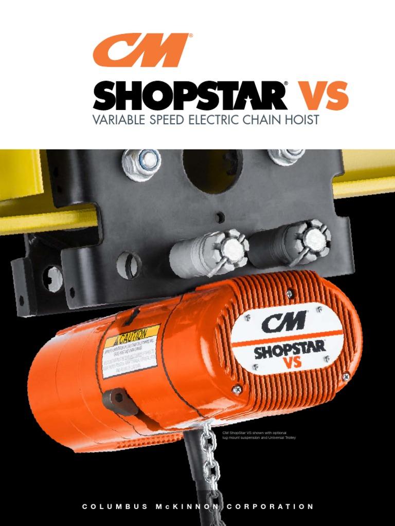 Cm Shopstar Hoist Wiring Diagram 300 - Wiring Diagram G11 on