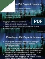 Penetapan Zat Organik Dalam Air