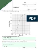Year 12 Unit 5 Lesson 14 - Descriptive Statistics Booklet [C] (Ans)