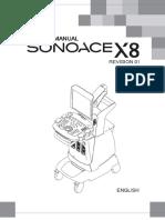 Samsung SonoAce X8 Ultrasound - Service Manual