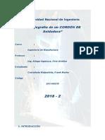 Informe de Metalografia de Cordon de Soldadura