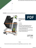 Kit Autoconsumo 2000W Inyeccion Cero _ DSP Solar
