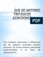 Arranque de Motores Trifásicos Asíncronos