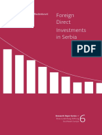 Foreign Direct Investment In Serbia