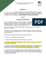 Constituição Estadual Do Estado de Roraima