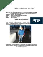 Informe de Calcinacion de Conchuelas de Maruchas
