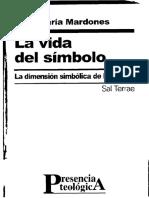 MARDONES, José María (2003), La vida del símbolo. La dimensión simbólica de la religión. Santander, Sal Terrae.pdf