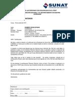 Carta Desagravio Romero R