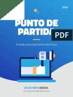 """""""PUNTO DE PARTIDA"""", UNA RADIOGRAFÍA A LA ENSEÑANZA DE PERIODISMO EMPRENDEDOR"""