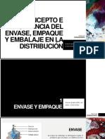 Concepto e Importancia Del Envase, Empaque y Embalaje en La Distribución