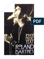 Roland Barthes-Image, Music, Text