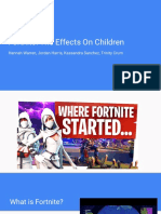 fortnite presentation