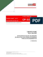 ficha tecnica cp500