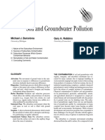 Soil and Growndwater Pollution
