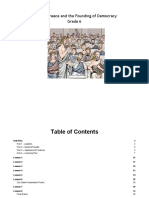 ancient greece and the founding of democracy