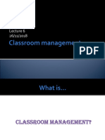 Lecture 6 - Classroom management'18.ppt