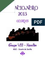 CANCIONERO 2013 Acordes _web