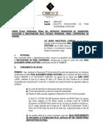 Revocatoria de Pena Suspendida a Efectiva Maria Hinostrosa