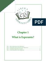 Libera Esperanto Libro Chap1 En