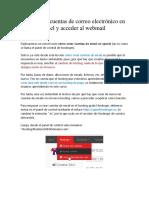 Cómo Crear Cuentas de Correo Electrónico en Hosting Cpanel y Acceder Al Webmail