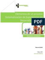 Elementos Para La Sistematizacion en DT
