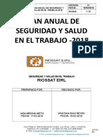 Plan Anual de Sst Riossat Eirl 2017