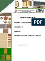 Guìa de Pràcticas de Tecnología de La Madera