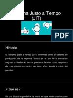 Sistema Justo a Tiempo (JIT)