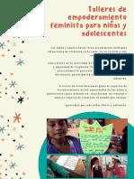 Talleres de Empoderamiento Feminista para niñas y adolescentes