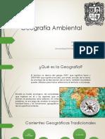 Geografía Ambiental