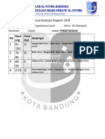 Format Deskripsi IPS Kelas 8