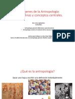 Antropología y subdisciplinas