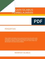 Desain Silabus Pembelajaran.pptx