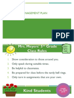 edu 220 classroom management plan