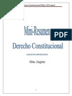 Mini Derecho Constitucional