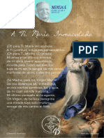 P. Dávila (a Ti, María Inmaculada)