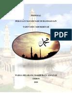 Proposal Maulid Nabi Muhammad Saw
