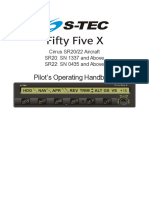 Fifty Five X for SR20-22 Avidyne