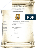 Telecomunicaciones Informe Final 6